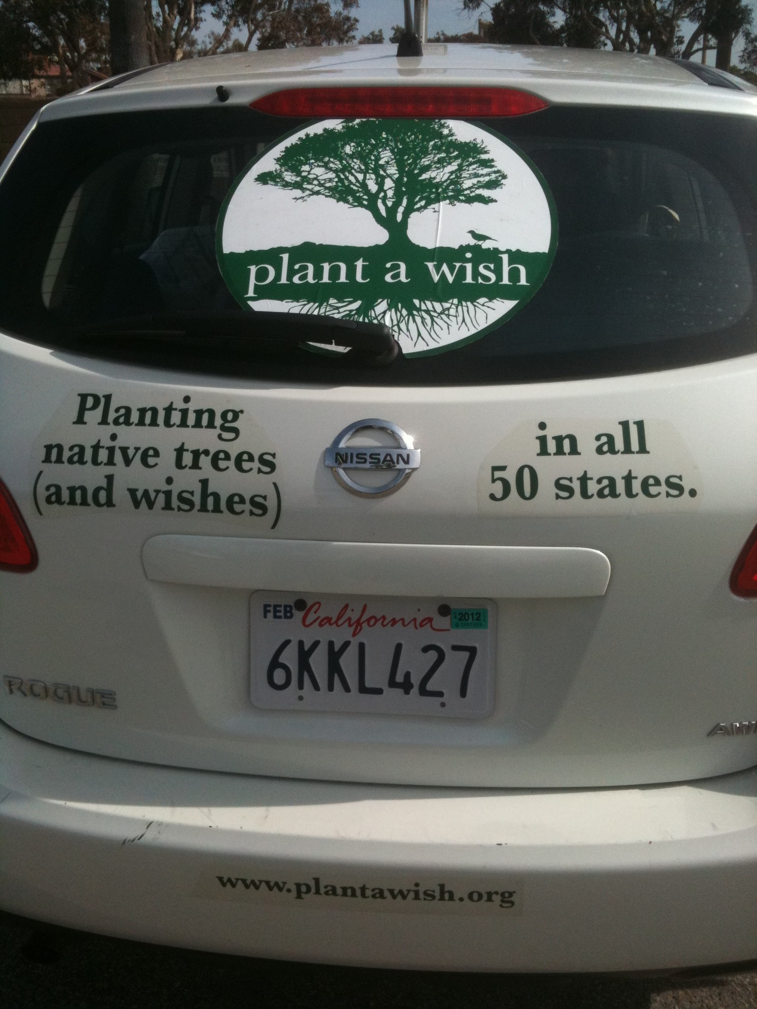 Plant a Wish Tour Vehicle: What's Inside?