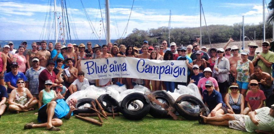 Come Sail With Us on Sunday 5/25! Trilogy's Blue'aina Campaign Features Plant a Wish