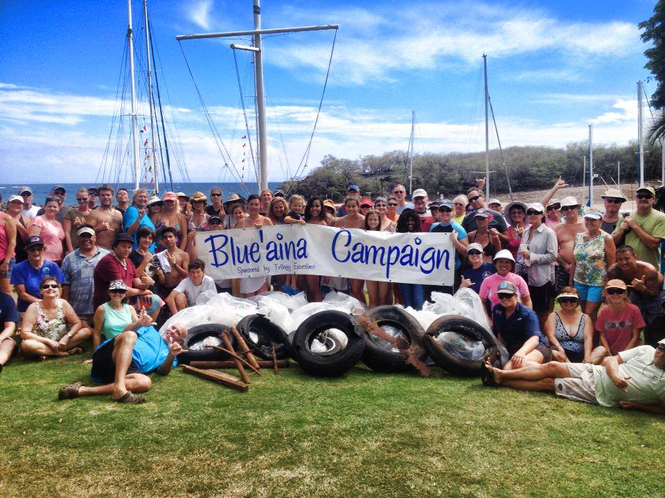 Blue'aina Reef Cleanup and Native Tree Planting on Lanai