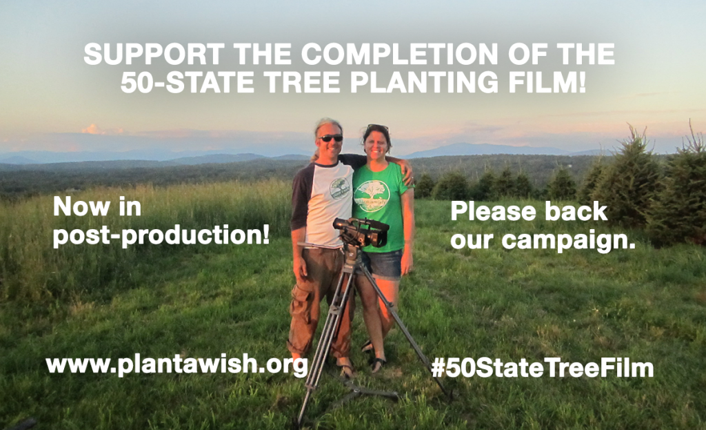 Support The 50 State Tree Planting Documentary